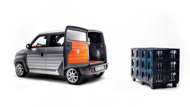 Немцы представили городской электромобиль с батареей на крыше