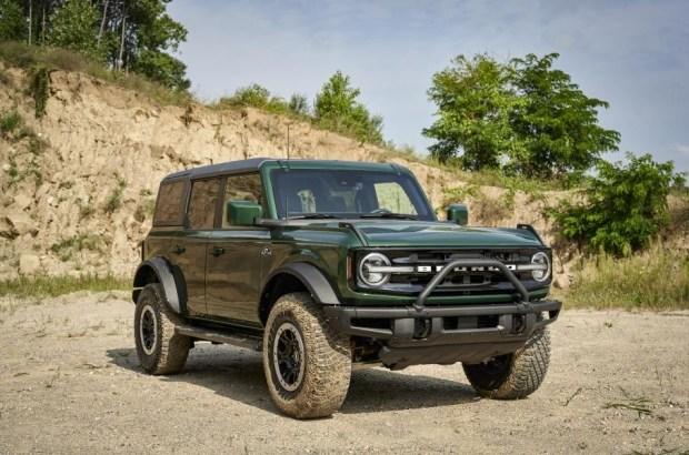 Новый Ford Bronco начнут красить в цвет внедорожников первого поколения