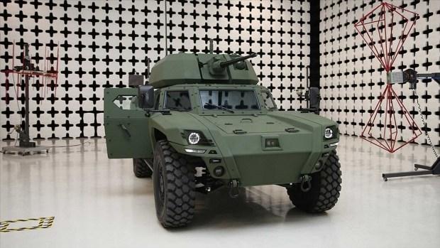 Новый бронеавтомобиль Akrep II
