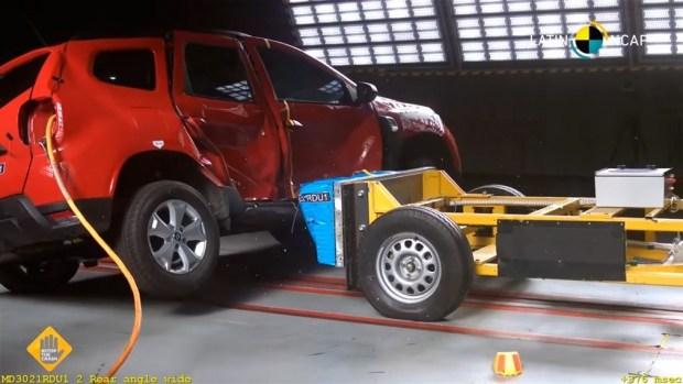 Обновленный Renault Duster и ноль звезд безопасности!