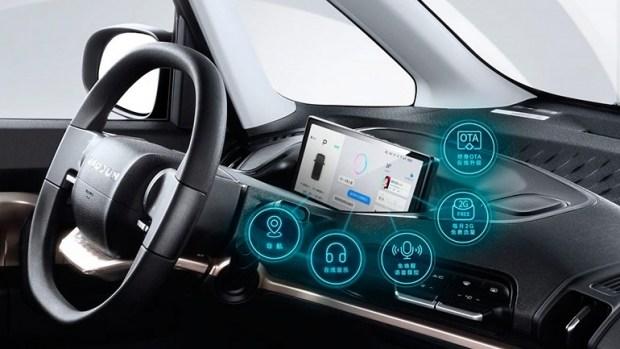 Baojun представил электрический городской автомобиль KiWi EV