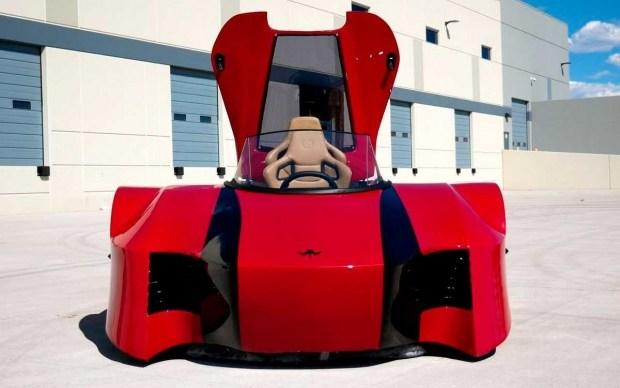 В Сети показали спорткар на воздушной подушке