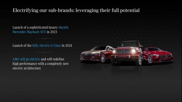 Mercedes анонсировал новый электрический Maybach