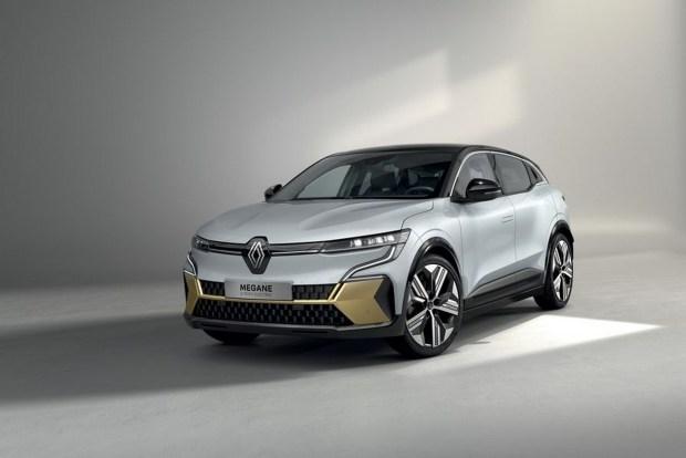 Электрокроссовер Renault Megane порадовал эффектным интерьером