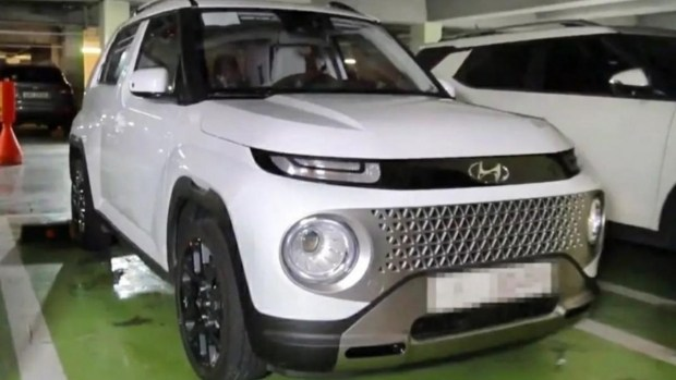 Новый Hyundai Casper впервые показали на «живых» фото