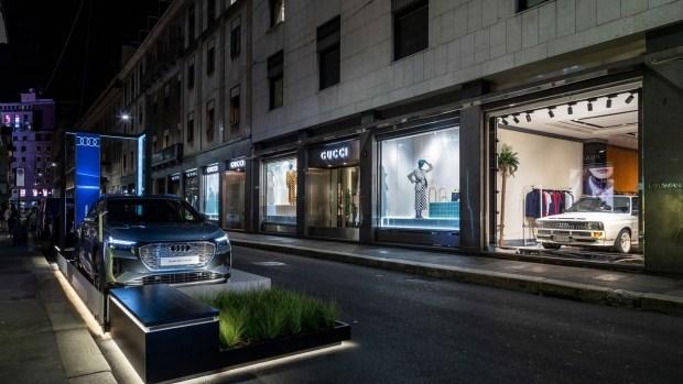 Audi анонсировала дебют концепта Audi A6 e-tron на Неделе дизайна в Милане