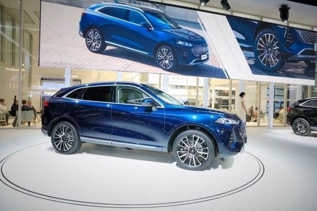 Wey Coffee 01: Great Wall бросает вызов BMW и Mercedes