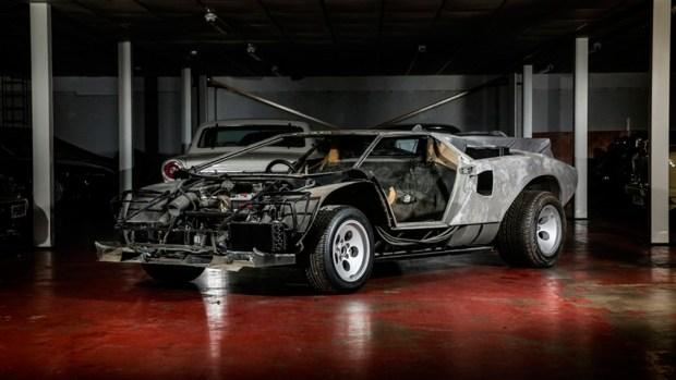 Редчайший Lamborghini Countach продают в разобранном виде