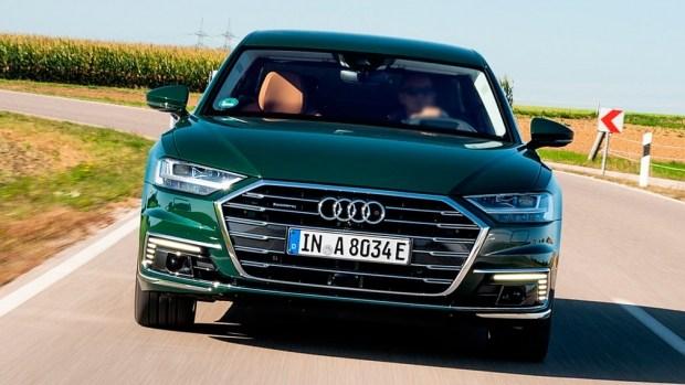 Audi представила A8 L нового модельного года
