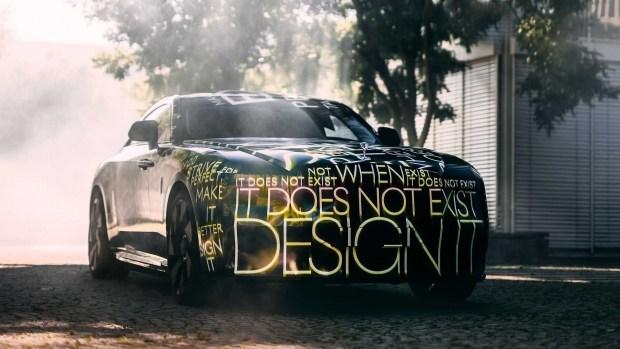 Rolls-Royce показал свой первый электромобиль