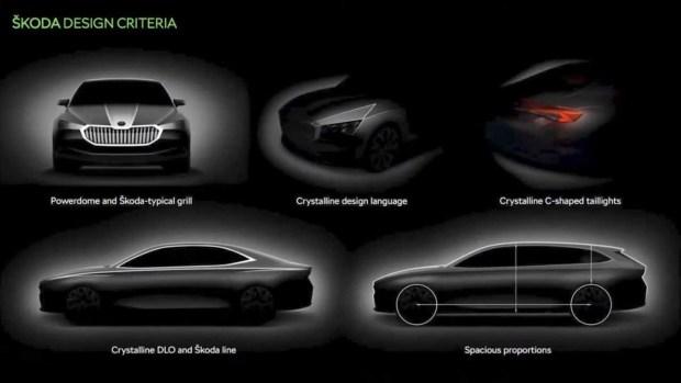 Первые изображения нового поколения Skoda Superb