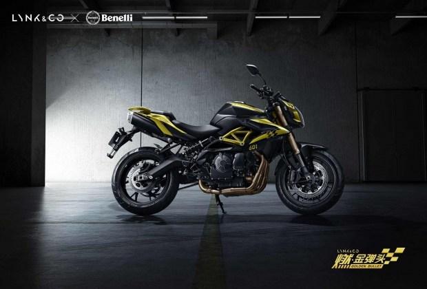 Серьезный игрок: китайский мотоцикл Lynk Co