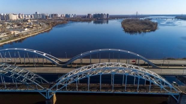 Подписан контракт на достройку Дарницкого моста в Киеве