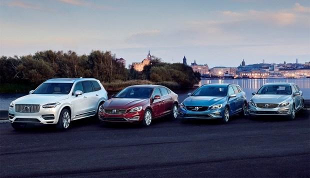 Продажи Volvo упали на 30,2%
