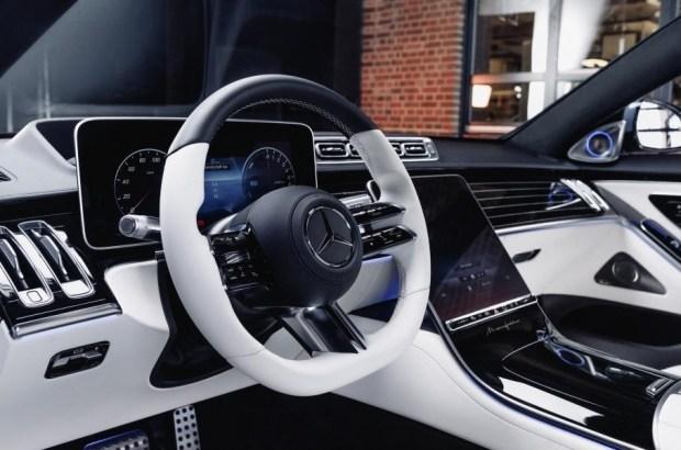 Собери свой S-класс сам: Mercedes добавил в программу персонализации Manufaktur ещё несколько моделей
