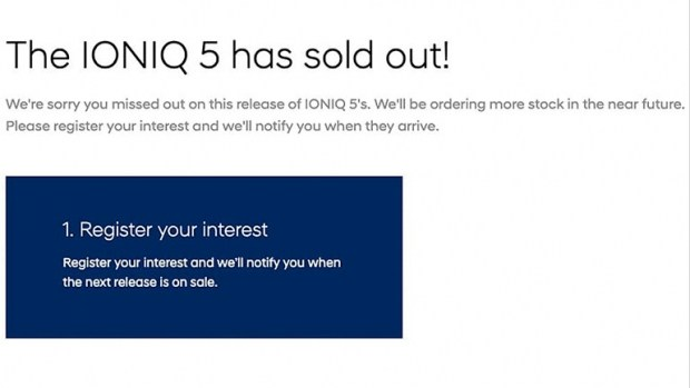 Первую партию Hyundai IONIQ 5 в Австралии раскупили за два часа
