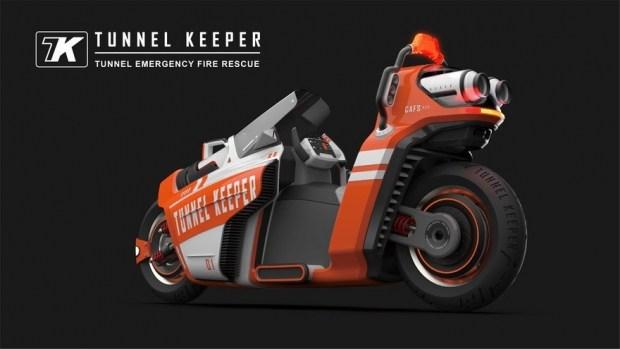 Tunnel Keeper - пожарный мотоцикл
